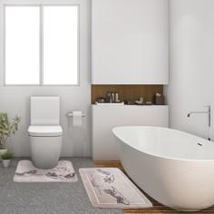 Набор ковриков для ванной этель