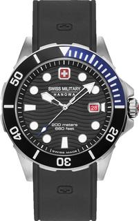Швейцарские мужские часы в коллекции Aqua Мужские часы Swiss Military Hanowa 06-4338.04.007.03