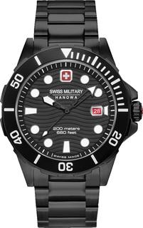 Швейцарские мужские часы в коллекции Aqua Мужские часы Swiss Military Hanowa 06-5338.13.007