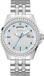 Женские часы в коллекции Dress Steel Женские часы Guess GW0218G1