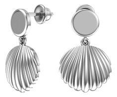 Серебряные серьги Серьги POKROVSKY 6001425-00245