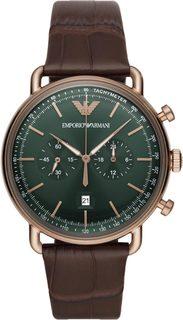 Мужские часы в коллекции Aviator Мужские часы Emporio Armani AR11334