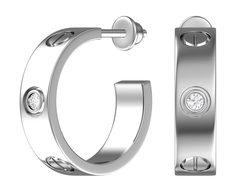 Серебряные серьги Серьги POKROVSKY 6101311-00775