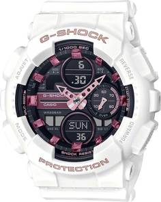 Японские женские часы в коллекции G-SHOCK Женские часы Casio GMA-S140M-7AER