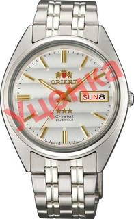 Японские мужские часы в коллекции 3 Stars Crystal 21 Jewels Мужские часы Orient AB0000DW-ucenka