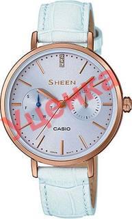 Японские женские часы в коллекции Sheen Женские часы Casio SHE-3054PGL-2A-ucenka