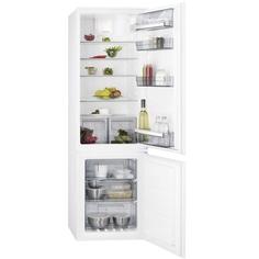 Встраиваемый холодильник комби AEG SCR618F6TS