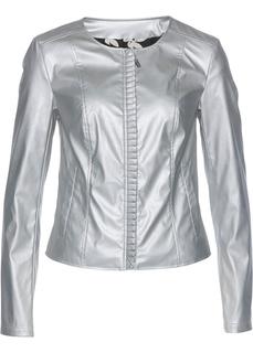 Куртка из искусственной кожи Bonprix