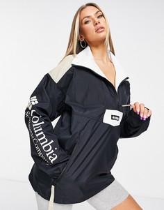 Черная куртка Columbia Santa Ana-Черный цвет