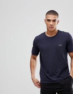 Темно-синяя футболка BOSS Bodywear-Темно-синий