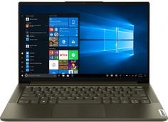 Ноутбук Lenovo Yoga Slim7 14ITL05 Dark Green 82A3004MRU (Intel Core i5-1135G7 2.4 GHz/16384Mb/512Gb SSD/Intel Iris Xe Graphics/Wi-Fi/Bluetooth/Cam/14/1920x1080/Windows 10)