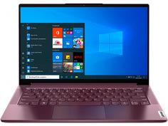Ноутбук Lenovo Yoga Slim7 14ITL05 Bordo 82A3004NRU (Intel Core i5-1135G7 2.4 GHz/16384Mb/512Gb SSD/Intel Iris Xe Graphics/Wi-Fi/Bluetooth/Cam/14/1920x1080/Windows 10)