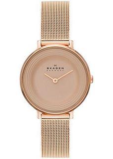 Швейцарские наручные женские часы Skagen SKW2213. Коллекция Mesh