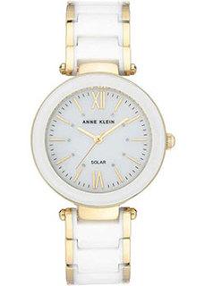 fashion наручные женские часы Anne Klein 3844WTGB. Коллекция Ceramics