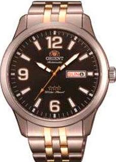 Японские наручные мужские часы Orient AB0B005B. Коллекция Three Star