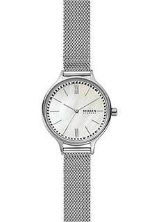Швейцарские наручные женские часы Skagen SKW2966. Коллекция Mesh
