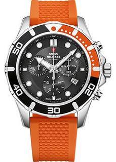 Швейцарские наручные мужские часы Swiss military SM34044.05. Коллекция Sports