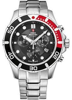 Швейцарские наручные мужские часы Swiss military SM34044.01. Коллекция Sports