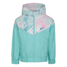 Детская куртка All Over Printed Block Windrunner Nike