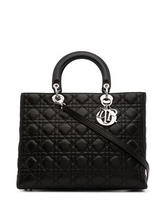 Christian Dior сумка Cannage Lady Dior pre-owned