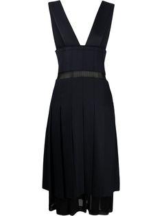 Comme Des Garçons плиссированное платье миди