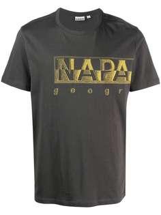 Napapijri футболка с логотипом