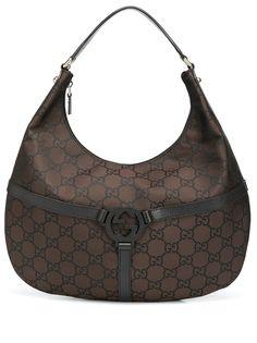 Gucci Pre-Owned сумка-хобо с узором GG