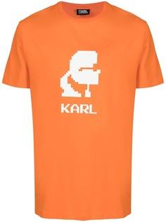 Karl Lagerfeld футболка Karl с круглым вырезом