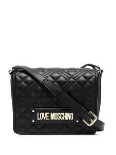Love Moschino стеганая сумка через плечо