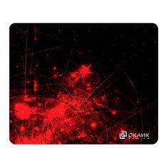 Коврик для мыши OKLICK OK-F0252, рисунок/красные частицы ОКЛИК