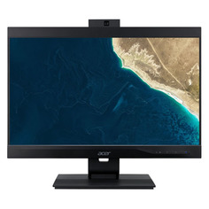 "Моноблок ACER Veriton Z4870G, 23.8"", Intel Core i5 10400, 8ГБ, 256ГБ SSD, Intel UHD Graphics 630, DVD-RW, Windows 10 Professional, черный [dq.vtqer.001]"
