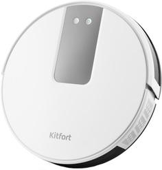 Робот-пылесос Kitfort KT-571 (белый-черный)