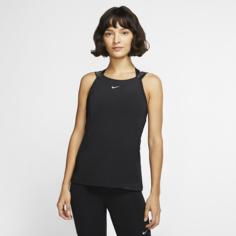 Женская майка Nike Pro - Черный