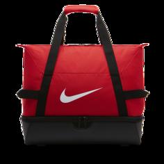 Футбольная сумка-дафл Nike Academy Team Hardcase (большой размер) - Красный