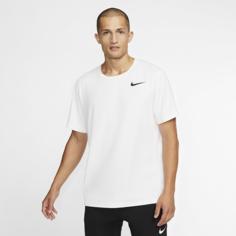 Мужская футболка с коротким рукавом Nike Pro - Белый