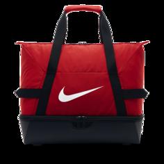 Футбольная сумка-дафл Nike Academy Team Hardcase (средний размер) - Красный