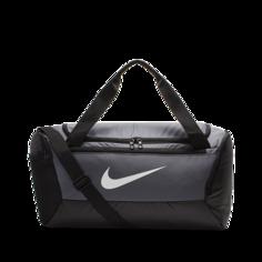 Сумка-дафл для тренинга Nike Brasilia (маленький размер) - Серый