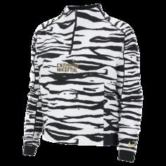 Женская футбольная куртка Korea - Белый Nike