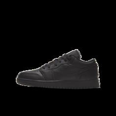 Кроссовки для школьников Air Jordan 1 Low - Черный Nike