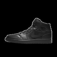 Кроссовки Air Jordan 1 Mid - Черный Nike