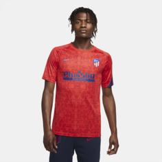 Мужская игровая футболка с коротким рукавом Atlético de Madrid - Красный Nike