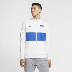 Мужская футбольная куртка Hertha BSC - Белый Nike
