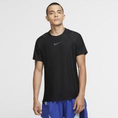 Мужская футболка с коротким рукавом Nike Pro - Черный