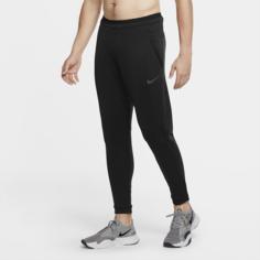 Мужские флисовые брюки Nike Pro - Черный