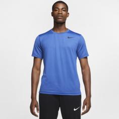 Мужская футболка с коротким рукавом Nike Pro - Синий