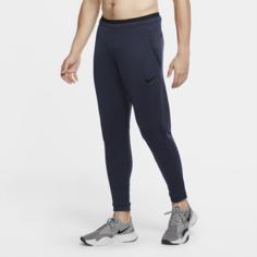 Мужские флисовые брюки Nike Pro - Синий