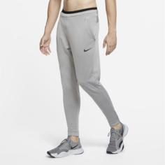 Мужские флисовые брюки Nike Pro - Серый
