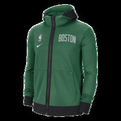 Мужская худи Nike НБА Therma Flex Boston Celtics Showtime - Зеленый