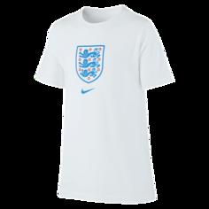 Игровая футболка для школьников England - Белый Nike