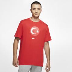 Мужская игровая футболка Turkey - Красный Nike
